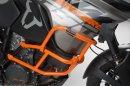 SW-Motech - padací rám oranžový - horní k originálnímu KTM 1090 Adventure (16-)