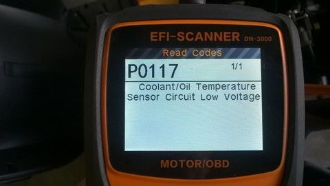 Diagnostika OBD Skútr EURO4